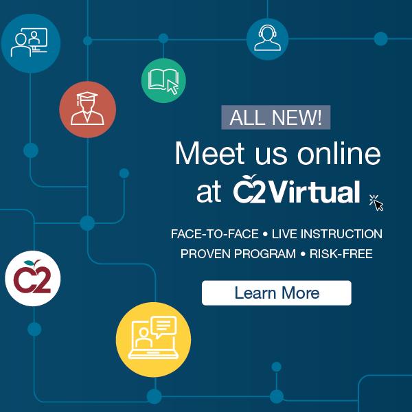 c2 virtual online test prep tutoring