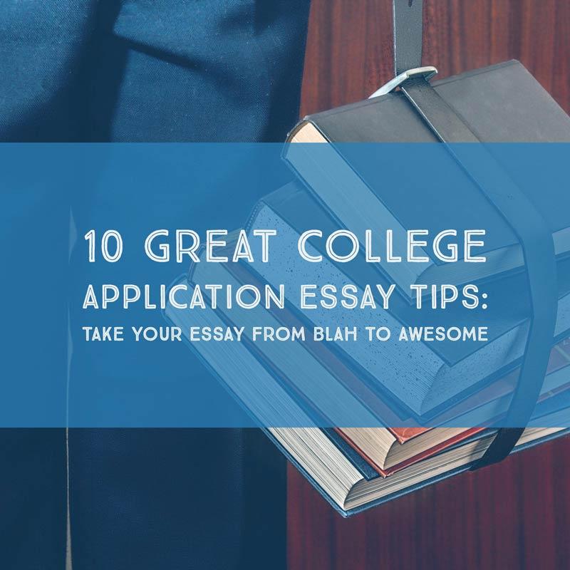 College admission essay classes