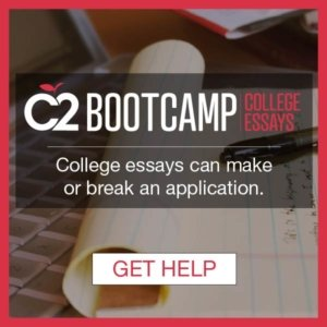 paper, pen, and laptop for writing the perfect college essay