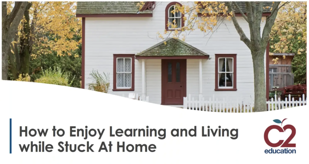 webinar about learning while stuck at home