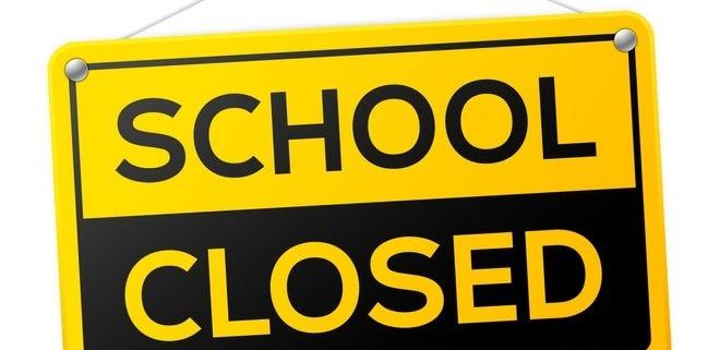 schools closed due to COVID-19