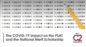 webinar screenshot about covid-19 impact on the psat